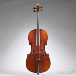Child's 1/2-size German Cello