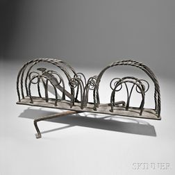 Wrought Iron Rotary Toaster