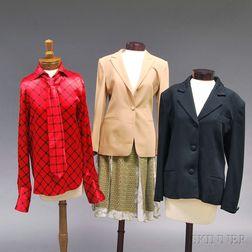 Four Lady's Designer Clothing Items