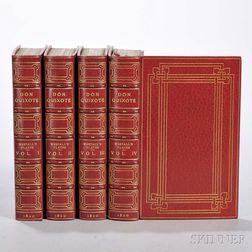 Cervantes, Miguel (1547-1616) The Life and Adventures of Don Quixote de la Mancha  , illus. Richard Westall (1765-1863)
