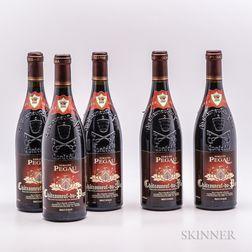 Domaine Pegau Chateauneuf du Pape Cuvee da Capo 2000, 5 bottles
