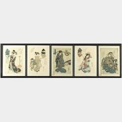 Five Prints: