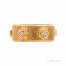 Buccellati 18kt Gold and Diamond Ring