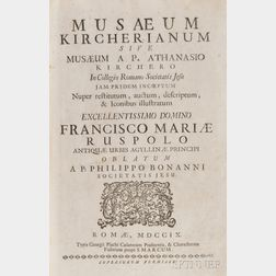 Kircher, Athanasius (1645-1723) Musaeum Kircherianum