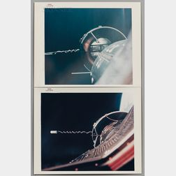 Eighteen NASA-issued Photographs:      Rendezvous and Agena Target Docking Vehicle from Various Gemini Missions