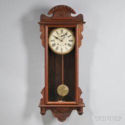 Waterbury Oak Thirty-day Wall Clock