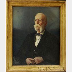 Harold Brett (Massachusetts, 1880-1955)       Portrait of Captain Samuel Harding.