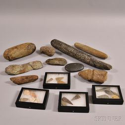 Collection of Pre-Historic and Pre-Historic-style Items
