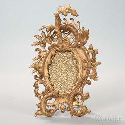 Gilt-bronze Rococo-style Picture Frame