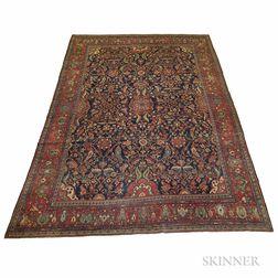 Antique Ferehan Sarouk Carpet