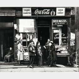 Walter Rosenblum (American, 1919-2006)      Chick's Candy Store, Pitt Street, New York