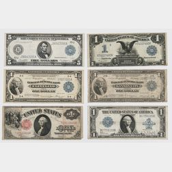 Six American Bank Notes