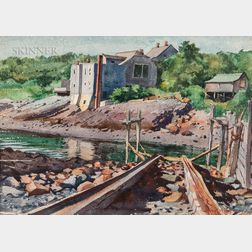 Edmond James Fitzgerald (American, 1912-1989)      Perkins Cove, Ogunquit