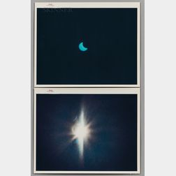 Five NASA-issued Photographs:      From Gemini VII and Gemini XII
