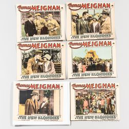 "Set of Six Lobby Cards for ""The New Klondike"" by Ring Lardner"