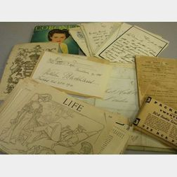 Collection of Mostly 19th Century Correspondence and Ephemera