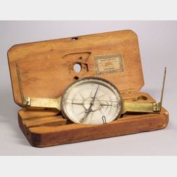 Brass Surveyor's Compass by Ziba Blakslee