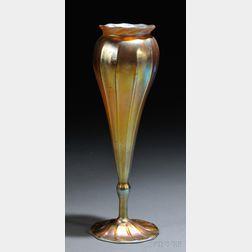Tiffany Favrile Floriform Vase