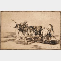 Francisco José de Goya y Lucientes (Spanish, 1746-1828)      Los Moros establecidos en España