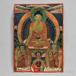 Buddhist Miniature Painting