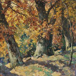 Henry Hobart Nichols (American, 1869-1962)      Autumn Gold