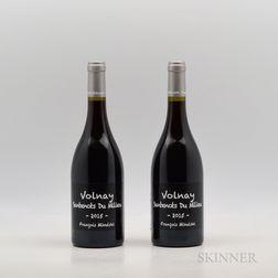 Francois Mikulski Volnay Santenots du Milieu 2015, 2 bottles