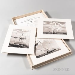 Commemorative Cased Volume of Norman Fortier Photographs