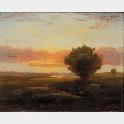 Sylvester Phelps Hodgdon (American, 1830-1906)      On the Marsh/