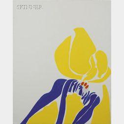 Lila Pell Katzen  (American, 1932-1998)      Lot of Two Works: Penumbra