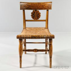 Painted and Gilded Fancy Chair