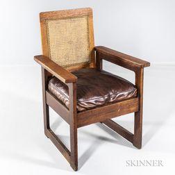 Quaint Arts and Crafts Armchair