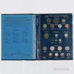 Partial United States Type Set.     Estimate $200-400
