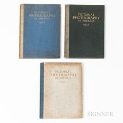 Pictorial Photography in America.   Three Volumes.