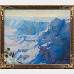 Marion Boyd Allen (American, 1862-1941)      Grand Canyon