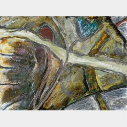 Gregory Amenoff  (American, b. 1948)      Untitled Miniature #3
