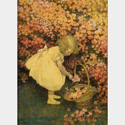 Jessie Willcox Smith (American, 1863-1935)      Rosebuds