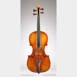Italian Violin, c. 1890, Possibly Vincenzo Sannino After Pasquale Ventapane