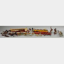 Collection of Britains and Other Figurines