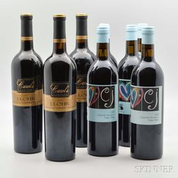 Mixed Napa Cabernet Sauvignon Lot, 8 bottles