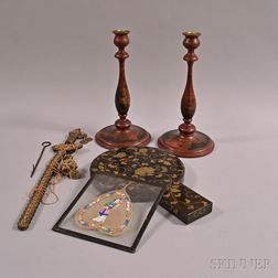 Four Asian Decorative Objects