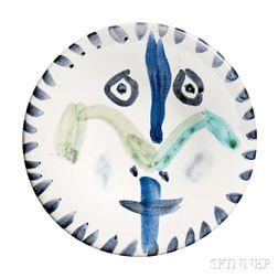 Pablo Picasso (Spanish, 1881-1973)      Face no. 144