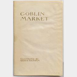 Rossetti, Christina (1830-1894) illus. Arthur Rackham (1867-1939) Goblin Market  , Signed Limited Edition.
