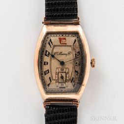 H. Moser & Company Rose Gold Oversize Wristwatch