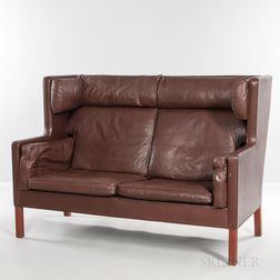 Borge Mogensen for Fredericia Stolefabrik Model 2192 Coupe Settee