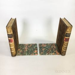 Pair of Resin Book-form Bookends