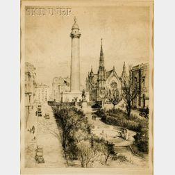 Gabrielle De Vaux Clements (American, 1858-1948)    The Heart of Baltimore