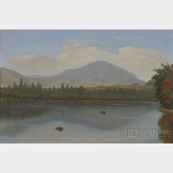 American School, 19th Century      View of Mt. Monadnock Looking North from Dublin Lake.