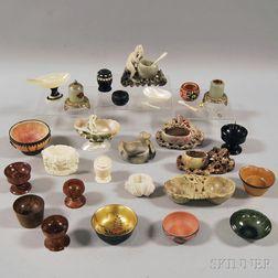 Twenty-six Assorted Mostly Asian Salts