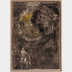 Igael Tumarkin (Israeli, b. 1933)    Untitled Abstraction