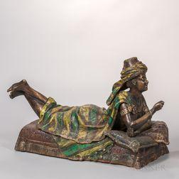 Austrian Bronze Cold-painted Erotic Figure